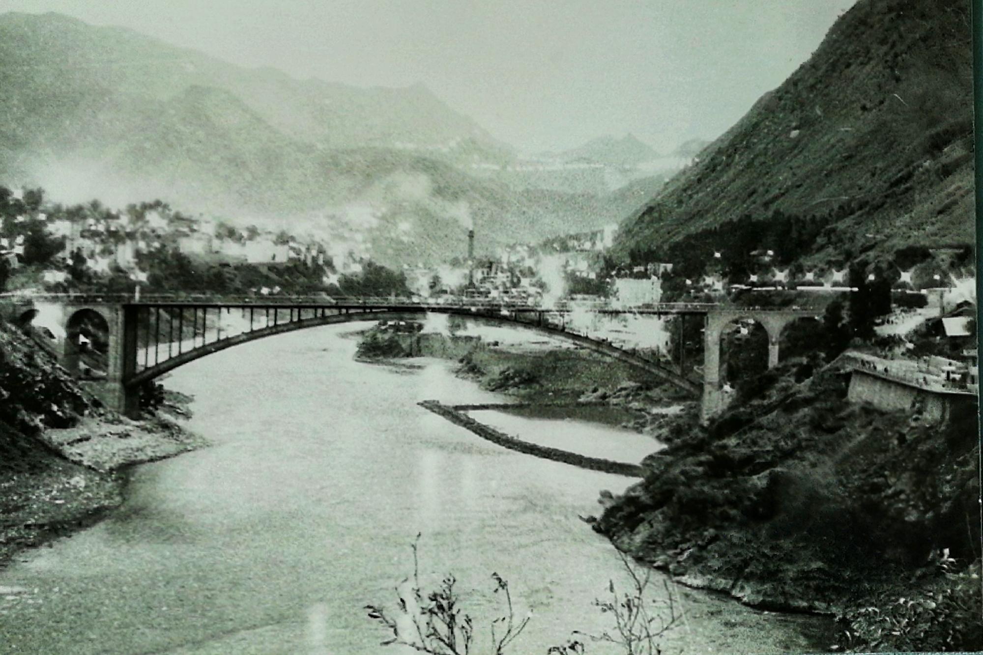 记忆中的渡口大桥之二