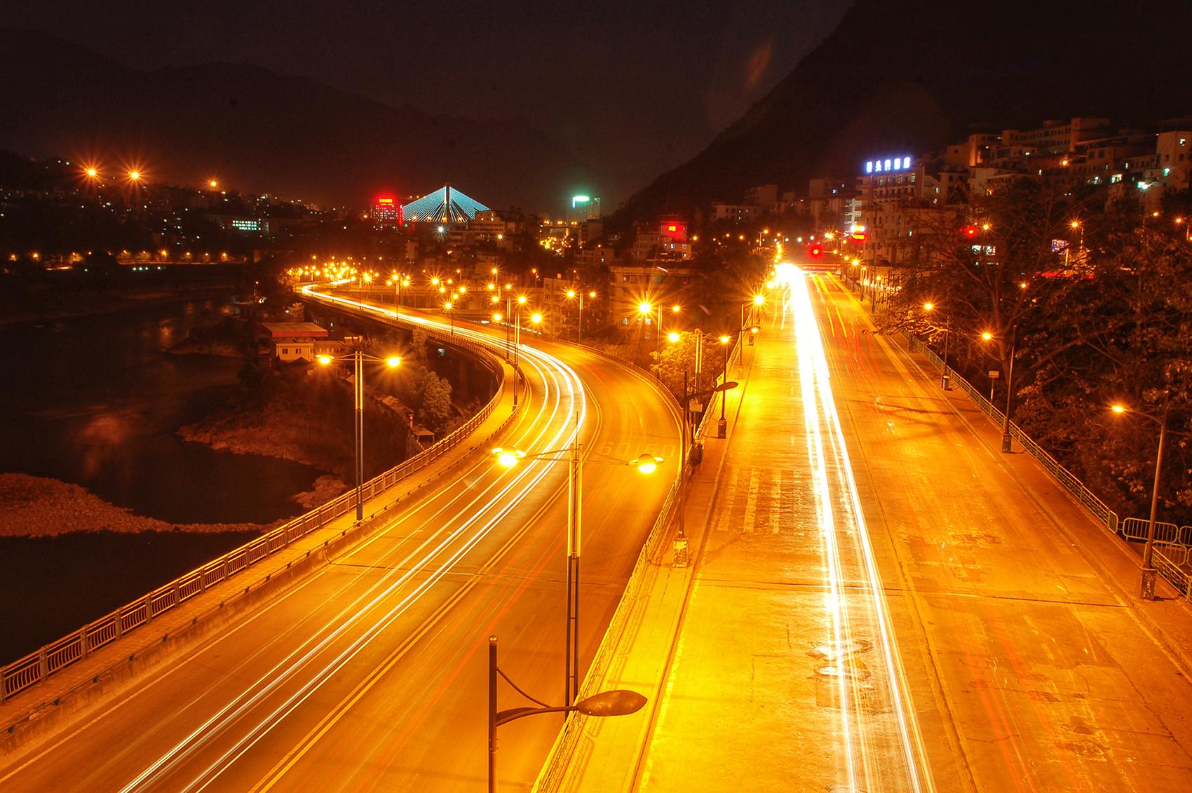 渡口大桥桥南之夜